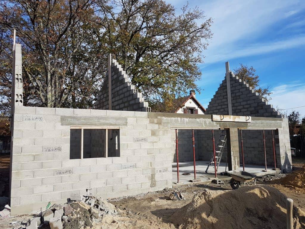 Construction d'un garage de 84 m² à Souesmes (41)
