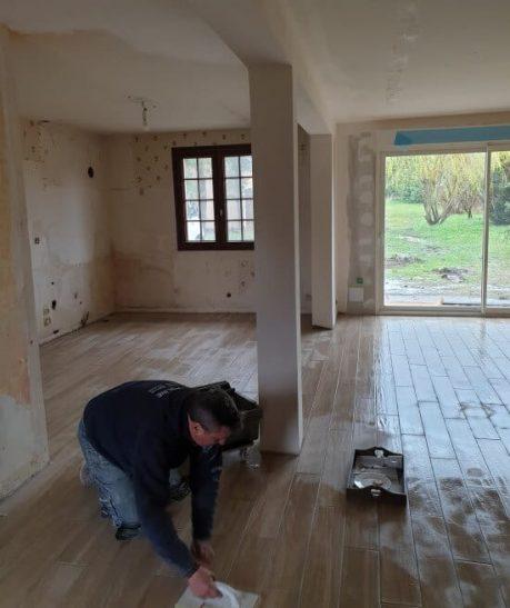 Poline entreprise :construction et agrandissement maison Salbris 41300