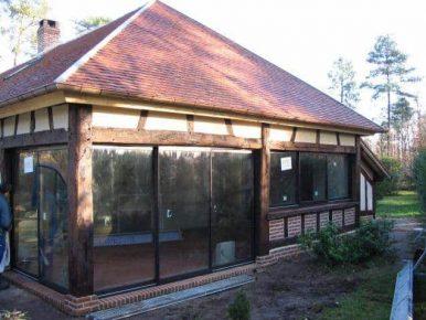 Poline entreprise : maçonnerie à Souesmes 41300 : extension de maison
