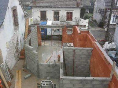 Poline entreprise : maçonnerie à Salbris 41300 : construction de maison