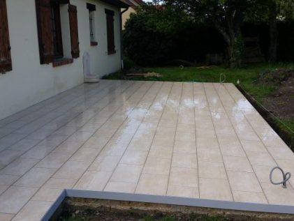 Poline entreprise : construction de terrasse à Salbris 41300